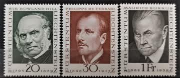 1968 Liechtenstein**