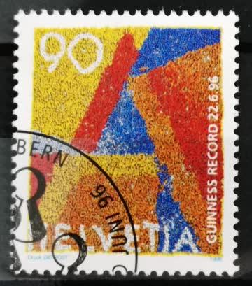 1996 Helvetia ET-Stempel