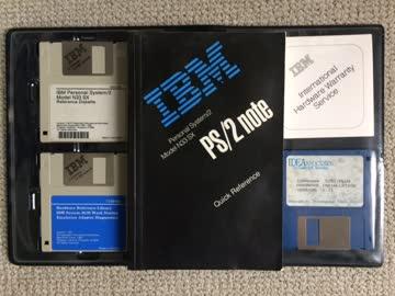 IBM PS/2 N33SX Quick Reference und Disketten