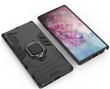 Samsung Galaxy Note 10 / 10 5G Hybrid Hardcase Hülle + Kicks