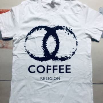 Coffee Religion T-Shirt, neu