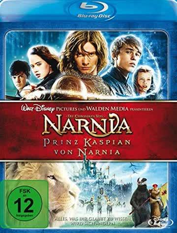 Die Chroniken von Narnia - Prinz Kaspian von Narnia [Blu-ray] [2008] [Region B & C]