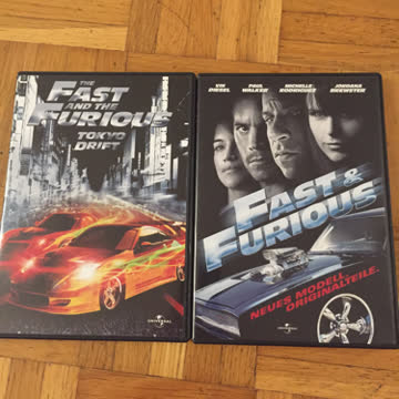 Fast and Furious 1-4