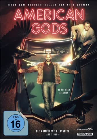 American Gods - Die komplette 2. Staffel (Collector's Edition) [3 DVDs]