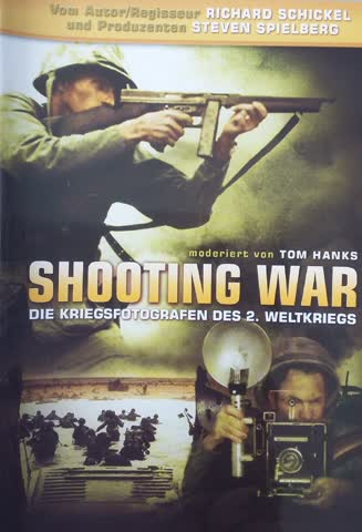 Shooting War - World war ll compact Cameramen