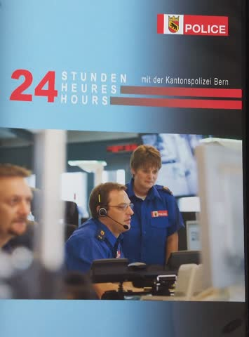 24 Stunden bei der Kantonspolizei Bern