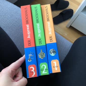 Der Jugendbrockhaus in 3 Bänden