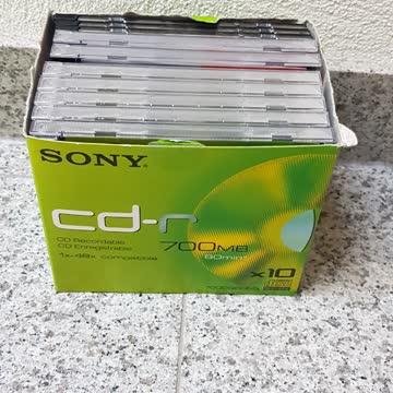 10 leere CD's cd-r
