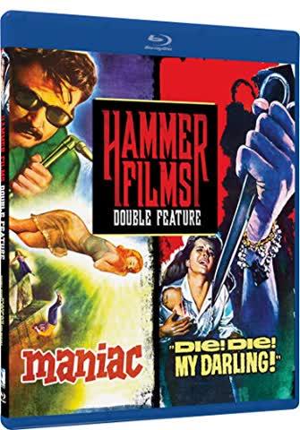 Hammer Films Double Feature: Maniac / Die! Die! My Darling!
