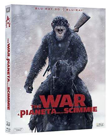 War For The Planet Of The Apes (Blu-ray 3D+Blu-ray) IT-Import