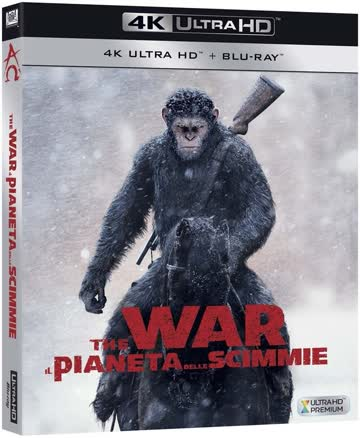 War For The Planet Of The Apes (4K UltraHD + Blu-ray) IT-Import