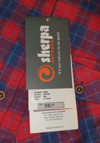 Sherpa warmes neues Hemd gr xs