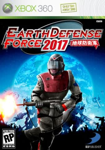 Earth Defense Force 2017 (NTSC)