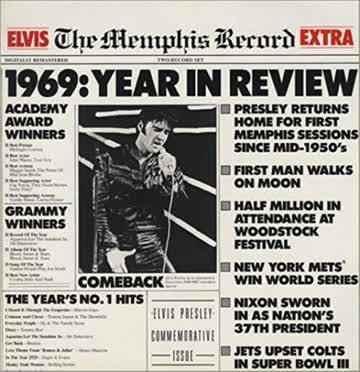 Elvis Presley - Memphis Record [Vinyl Album]