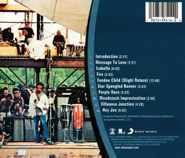Jimi Hendrix - Live At Woodstock Musik CD
