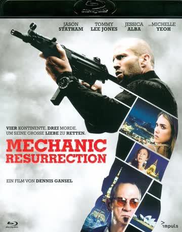 The Mechanic 2 Resurrection Film Blu-ray Deutsch