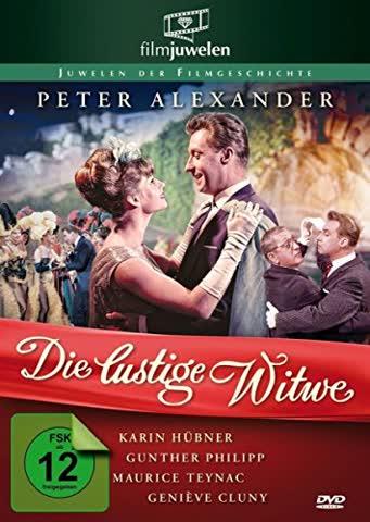 Peter Alexander: Die lustige Witwe (Filmjuwelen) (DVD) [1962]