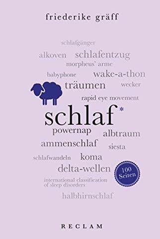 Schlaf. 100 Seiten (Reclam 100 Seiten)