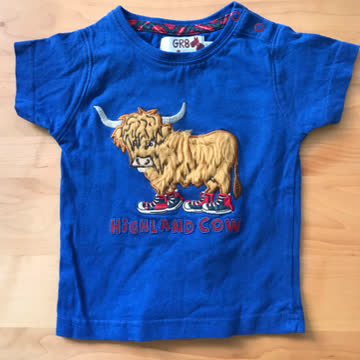 Baby T-Shirt Highland Cow