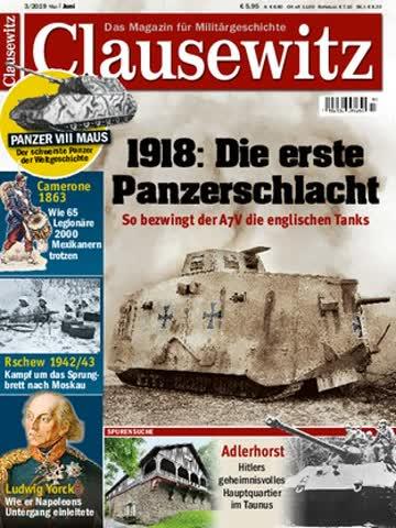 """Zeitschrift """"Clausewitz 3/2019)"""