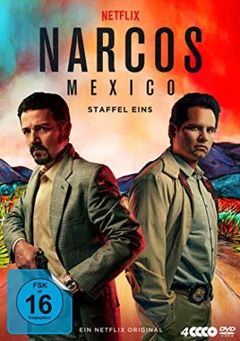 Narcos: Mexico - Staffel Eins [4 DVDs]