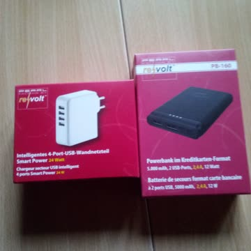 4Port Usb & Powerbank 5000mAh