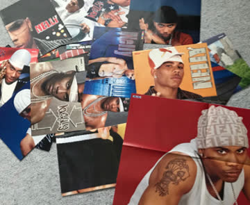 Postersammlung von Rapper Nelly