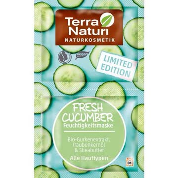 Terra Naturi Fresh Cucumber Feuchtigkeitsmaske