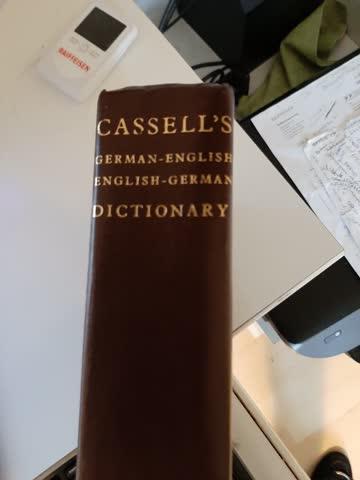 CASSELS German-English English-German Dictionary