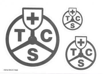 Kleber, TCS in silber (3st)