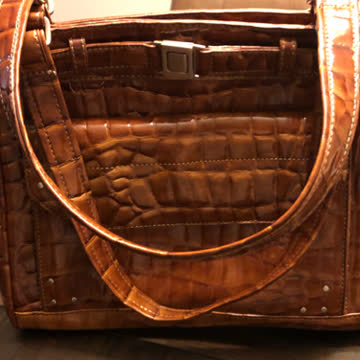 Benetton Handtasche Kelly Style