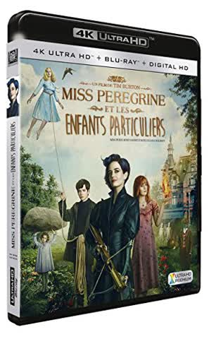 Miss peregrine et les enfants particuliers 4k ultra hd [Blu-ray] [FR Import]