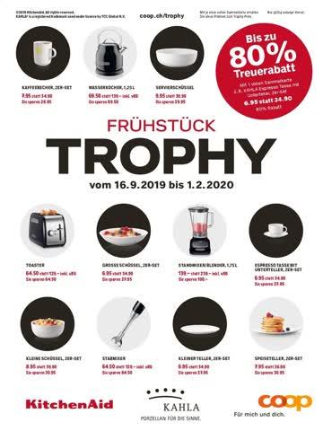 Coop Trophy 10 volle Sammelkarten