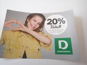 Gutschein Dosenbauch 20% Rabatt