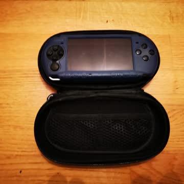 PSP mit Cover und Case