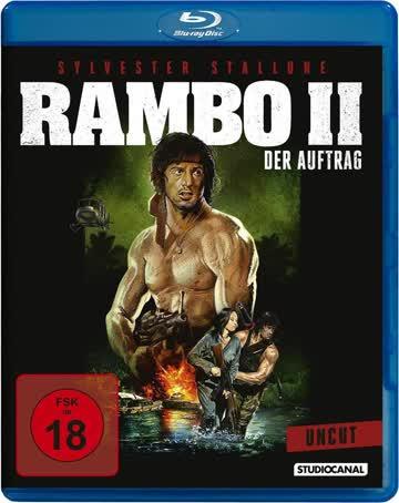Rambo 2 - Der Auftrag - First Blood Part 2 - Blu-ray, UNCUT