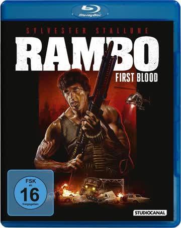 Rambo 1 - First Blood - Blu-ray, UNCUT (nur Disc)