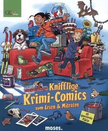 Redaktion Wadenbeißer - Knifflige Krimi-Comics zum Lesen & Mitraten
