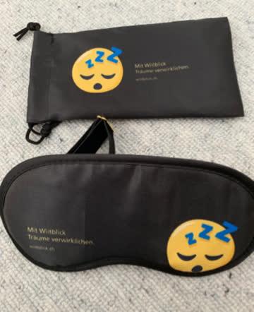 Schlafmaske Emoji neu