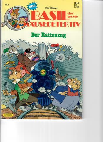 Basil der grosse Mäusedetektiv - Der Rattenzug (Comic)