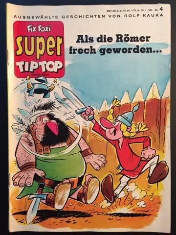 Comic-Rarität – 70-er-Jahre – Fix & Foxi Super – Nr. 4