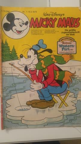 Historisches Micky-Maus-Heft von 1979