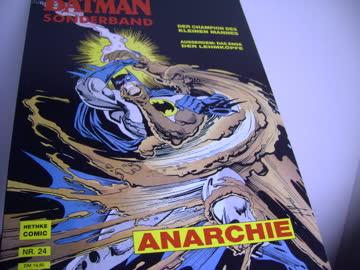 BATMAN Comic Sonderband ANARCHIE