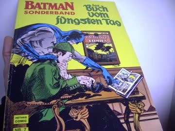 Batman Comic Das Buch vom jüngsten Tag