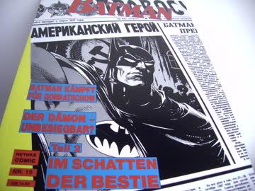 BATMAN Comic Im Schatten der Bestie Teil 2