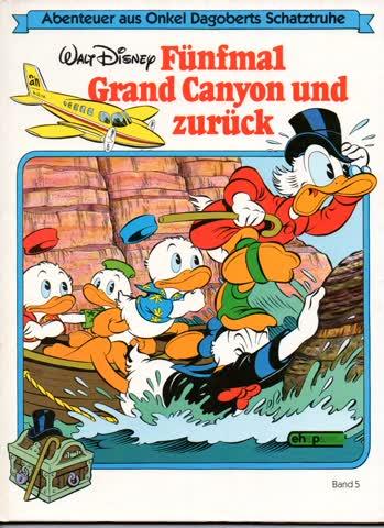 Walt Disney - Fünfmal Grand Canyon und zurück