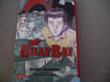 Manga: Billy Bat Teil 1 (von Naoki Urasawa)