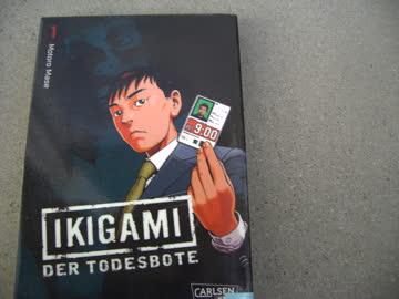 Manga IKIGAMI Der Todesbote Teil 1