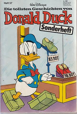 Donald Duck Sonderheft Nr. 57 2 Auflage