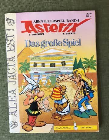 Abenteuerspiel Band 4 Asterix: Das grosse Spiel